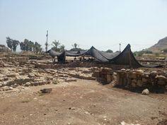 Sito archeologico di Magdala in fase di allestimento - Israel 2/09/13