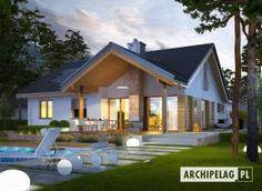 Projekt domu Simon energo plus - koszt budowy 239 tys. Home Fashion, Home Projects, Planer, House Plans, Shed, Villa, Loft, Outdoor Structures, House Design