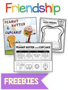 FREE Kindergarten and First Grade Friendship and social skills activities for kids - teach students how to be a good friend - learn about the qualities of a good friend using read aloud books and stor Social Emotional Activities, Emotions Activities, Kindness Activities, Social Studies Activities, Enemy Pie Activities, Teaching Friendship, Friendship Lessons, Friendship Activities, Preschool Friendship