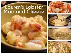 Lauren's Lobster Mac and Cheese recipe is up! Brie, fontina and gruyere cheeses, a pound of picked lobster meat over cavatappi pasta.  http://www.laurendemaio.com/laurens-lobster-mac-and-cheese/