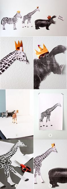 DIY Tutorial: Birthday Animal Parade Party Decorations // you are my fave