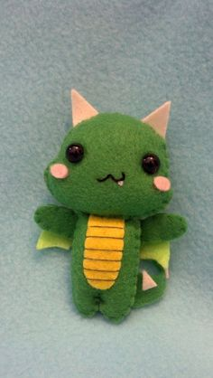 Baby Dragon Pocket Plush Doll