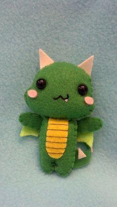 Baby Dragon Pocket Plush Doll