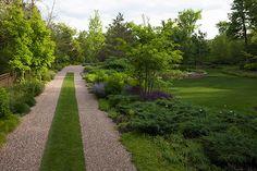 naturalistic garden in Winnetka, IL by Hoerr Schaudt landscape architects
