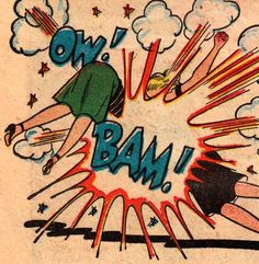 Ow ! Bam ! http://jpdubs.hautetfort.com/archive/2012/02/22/onomatopees.html