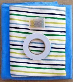 Easy Jersey Baby Blanket... jersey+flannel+steam a seam. #fortheboy