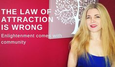 In my latest video I unpack the law of attraction and explore how a belief in the law of attraction handicaps our social development  and individual enlightenment - I have had some interesting thought provoking comments too and am enjoying the debate - love to you all #youtuber #nevergiveup #followme #meditation #lifehacks #beingwellwithlauren