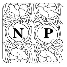 Leather Carving, Leather Tooling, Scroll Pattern, Pattern Art, Leather Working Patterns, True North, Leather Crafts, Leather Pattern, Illuminated Letters