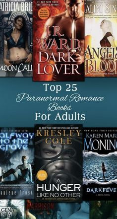 Looking for the best Adult Paranormal Romance Book? Kiersten Fay curated the top 25 paranormal romance books for adults that are HOTTER & STEAMIER than ever! Best Fantasy Romance Books, Vampire Romance Books, Adult Fantasy Books, Teen Romance Books, Paranormal Romance Books, Paranormal Photos, Vampire Book Series, Best Fantasy Book Series, Book Authors