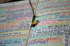 This style of art journaling (changing pen colors and fonts often) would get tiring for long entries, but if you just did a line or two a day, it could be a visually appealing way to briefly document every day.