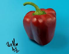 "Check out new work on my @Behance portfolio: ""Red pepper digital painting"" http://be.net/gallery/51579635/Red-pepper-digital-painting"