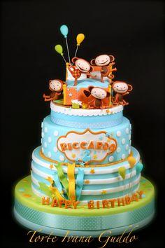 Baby Tv cake