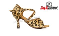 High quality suede inner sole. #animal_print #leopard. Available in all kinds of heels! http://danzamuerte.com/go/s-1002-premium