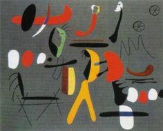 peinture collage, 1933 Joan Miro