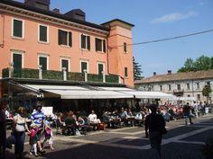 Peschiera on Lake Garda in Northern Italy.
