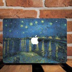 Sternennacht Vincent van Gogh Hartplastik-Etui Macbook Pro Retina 15 Air 11 13 – Axelle Van Goolen – Join the world of pin Macbook Pro Retina, Macbook Pro Tips, Macbook Decal, Laptop Decal, Coque Macbook, Macbook Skin, Macbook Case, Laptop Hard Case, Laptop Stand