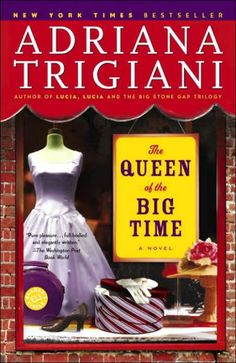 Known and loved around the world for her sweeping Big Stone Gap trilogy and the instant New York Times bestseller Lucia, Lucia, Adriana Trigiani...