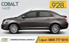 Chevrolet #Cobalt 1.4 LTZ, com parcelas a partir de R$ 928,07 ao mês! Tenha já o seu. www.consorciodeauto.com.br