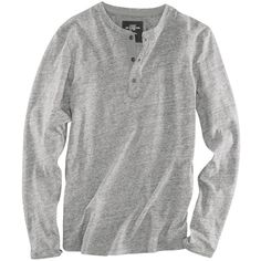 Henley Shirt - from H&M (20 CAD) ❤ liked on Polyvore featuring tops, men, male, mens clothes, shirts, checkered top, checked shirt, h&m, h&m tops and h&m shirts