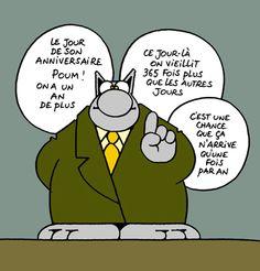 Le Chat De Philippe Geluck Carte Anniversaire Comics Le Chat