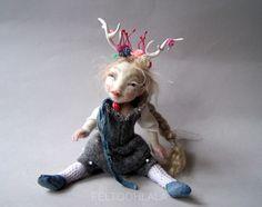 art doll by FELTOOHLALA.