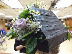House, flower arrangement
