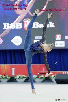Olena DIACHENKO (Ukraine) ~ Clubs @ World Challenge Cup Minsk 04/08/'17   Photo by Kate Ianiuk