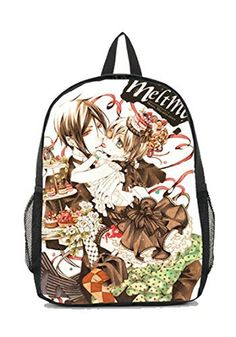 Dreamcosplay Black Butler Sebastian Ciel Logo New Backpack Student Bag Cosplay * Learn more by visiting the image link.