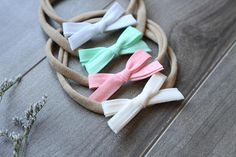 Items similar to Baby Bow Headband, Baby Girl Headband, Photography Prop on Etsy Baby Girl Headbands, Baby Bows, Mint Coral, Photography Props, Your Child, Ivory, Printed, Etsy, Color