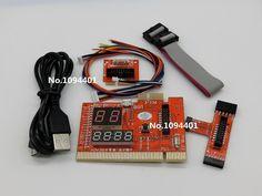 KQCPET6-H 2 in 1 Laptop And Desktop PC Universal Diagnostic Test Debug King Post Card Support for PCI PCI-E miniPCI-E LPC