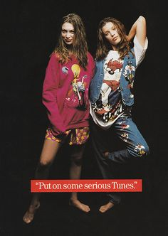 November 1993. 'Put on some serious Tunes.'