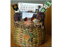 Knitting Gift Basket - BiddingForGood Fundraising Auction