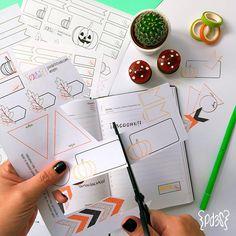 Descargable gratuito Stickers otoño para agendas, planificadores, libretas...puedes descargarlo en http://parde3studio.com/shop/categoria-producto/descargables/ #freebie