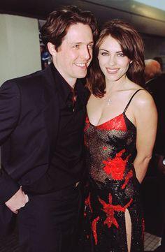 Hugh Grant and Elizabeth Hurley