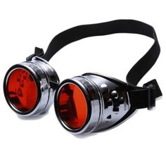 Steampunk Style Goggles Great colors Steampunk Accessories, Steampunk Clothing, Steampunk Fashion, Victorian Fashion, Steampunk Gadgets, Steampunk Goggles, Steampunk Diy, Steampunk Sunglasses, Welding Glasses