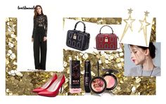 """""""Party"""" by tichia-b on Polyvore featuring moda y Burberry"""