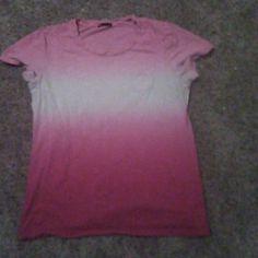 Shirt Pink chevron GAP Tops Tees - Short Sleeve
