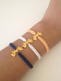 Bow Friendship Bracelet on Luulla