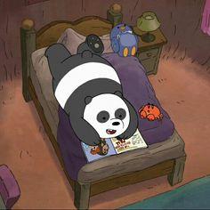 @xoxcactus ||🌵 We Bare Bears Wallpapers, Panda Wallpapers, Cute Cartoon Wallpapers, Cute Panda Wallpaper, Bear Wallpaper, Disney Wallpaper, Pardo Panda Y Polar, Bear Tumblr, Bee Painting