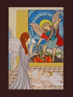 La esperanza de paz y justicia - Óleo sobre tela - 80x120  #Artwork #drawing #painting