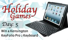 Day 5 of the Holiday games are now in session. Find out how to enter to #win this awesome prize!  http://blog.shoplet.com/office-supplies/holiday-games-12-days-of-giveaways/