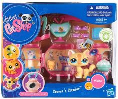Littlest Pet Shop Pets On the Go Mini Pet Carrier Cat Snooze n Slumber