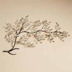 Moment of Peace Branch Wall Candelabra Brushed Bronze Gold Wall Decor, Metal Wall Decor, Metal Wall Art, Metal Wall Sculpture, Wall Sculptures, Wall Candle Holders, Branch Decor, Wine Rack Wall, Vine Wall