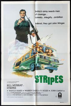 STRIPES-Original-Australian-One-sheet-Movie-poster-Bill.jpg (1076×1600)