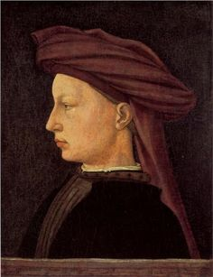 Portrait of a Young Woman - Masaccio - WikiPaintings.org