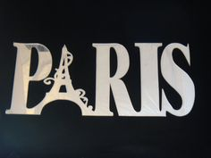 Paris Laser Cut Acrylic Mirror Wall Decor