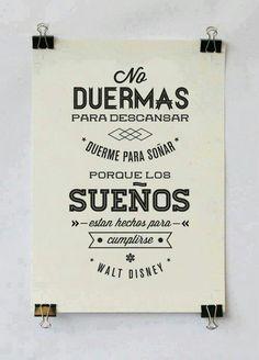 Walt Disney #frases #sueños