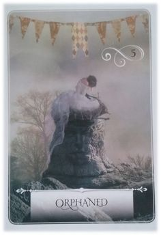 Orphaned ~ Wisdom of the Oracle divination card by Colette Baron-Reid