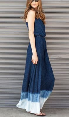 Dip dyed maxi @Nordstrom