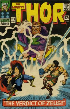 Odin by another name would be just as big a pain in the ass.The Mighty Thor #129, June 1966. Cover art by Jack Kirby.